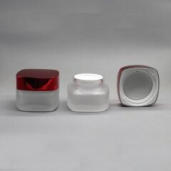 SQUARE GLASS JAR DNJB-514