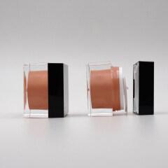 DNJA-533 square pink lotion bottle