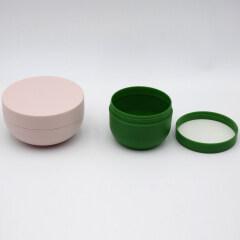 wholesale 120g 200g 240g 300g 500g single wall bowl shape cosmetic cream plastic jar with lid