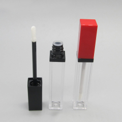 Luxury Bling Bling Square Lip Gloss Packaging Tube Luxury Container