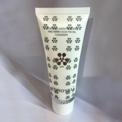 Empty Cosmetic Plastic Tube 200ml Packaging Cosmetic Plastic Tube 200ml with Bamboo lid