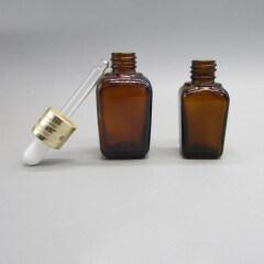 DNOB-511 Square Glass Essential Oil Dropper Bottle