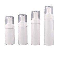 Wholesale Empty 4 oz 120 ml White PET Plastic Foam Pump Bottle Printing logo