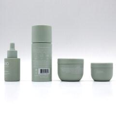 2021 most popular bowl shape 1.7oz 4oz green face cosmetic cream jar