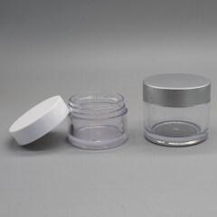 30g 50g PS empty cosmetic baby powder jar 50g