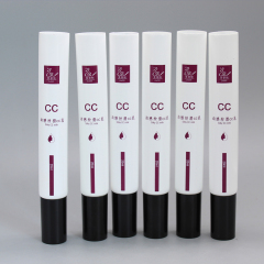 Wholesale New Design Plastic Cosmetic Tube with Clear Dropper Applicator Tip for Eye Cream