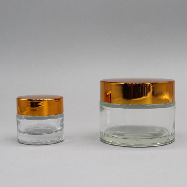 ROUND GLASS JAR DNJB-504