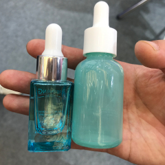 DNOB-518 square glass dropper bottles