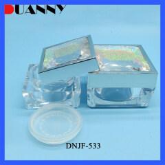 DNJF-533 SQUARE ACRYLIC POWDER JAR