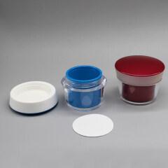Eco Friendly Cosmetic Packaging Cosmetic Cream Jar 50g
