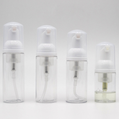 hot sale white cosmetic foaming cleansing making foaming soap pump bottle dispenser bottle