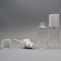 DNLB-517 Square Glass Lotion Bottle