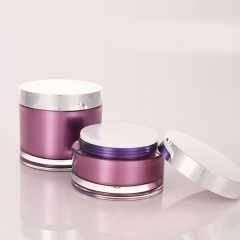 200g Large Round Acrylic Cosmetic Cream Jar Container for Skin Care