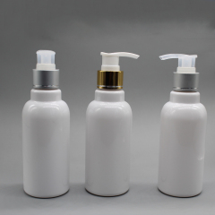 DNPET-503 White Plastic Cosmetic Shampoo Bottle