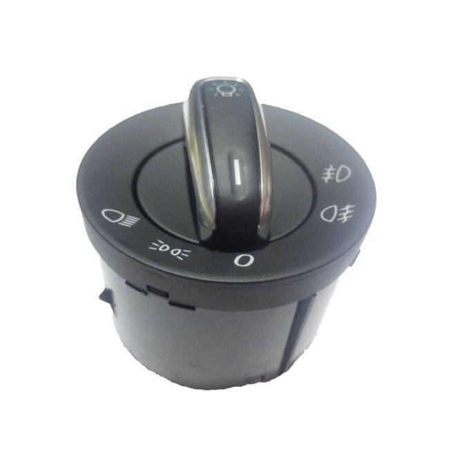 Head Lamp Switch  3C8941431C For MK5   R32 MK5   MK6   MK6 Golf R   Passat B6   Passat CC   Tiguan   EOS