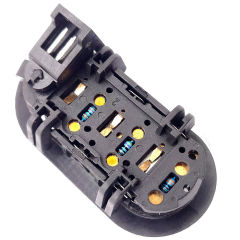 Steering Wheel Radio Left Control Switch  04685729AB For 2001-2011 Chrysler  Dodge  Jeep