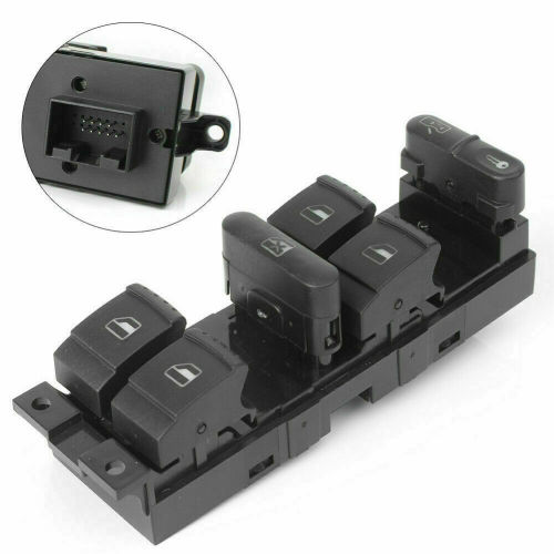 POWER WINDOW SWITCH  1J4959857  For  Volkswagen Golf  Jetta Variant  Passat  Bora Seat Leon  Toledo
