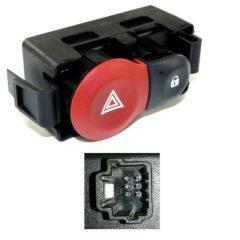 Hazard Warning Switch   252103766R For Renault Clio III   Modus   Twingo III
