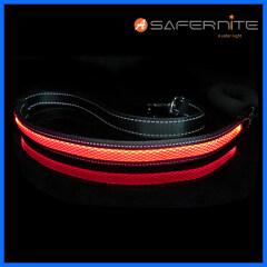 New arrival Light Up Leash illuminating led dog Nylon Pet leash Adjustable Dog Leash with Led