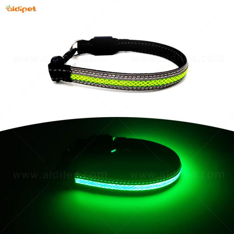 Wholesale dog leash lead/ Pet Collar Flashing LED Lighted Dog lead, Dog Harness