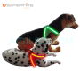 Led Dog Rechargeable Outdoor Safety Harness  Custom Flashing Pet Harness Vest Manufacturer