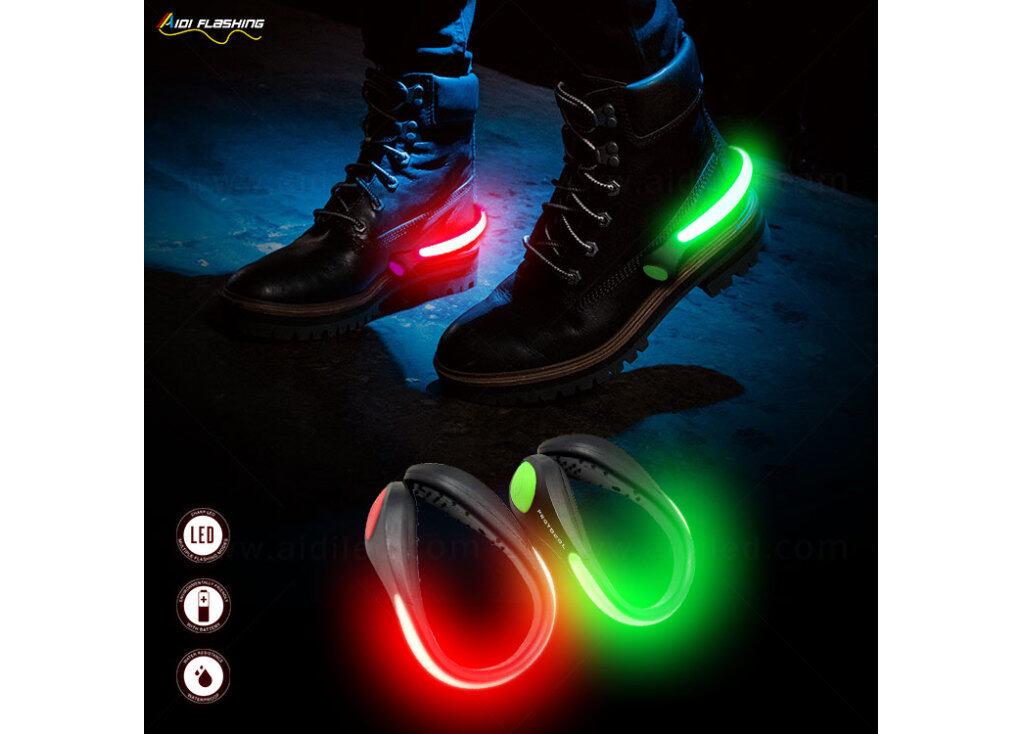 Use LED Shoe Clip Lights For Jogging