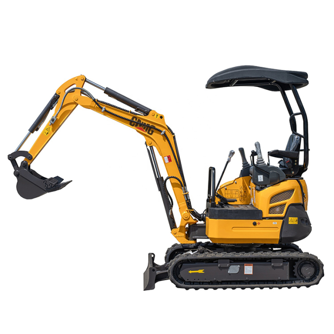 Factory wholesale easy to operate Safe and durable cheap mini parts bucket excavator