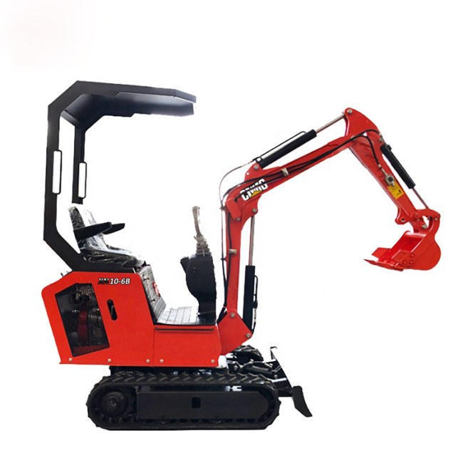 New log rotating grapple mini digger trench bucket excavator for low sale