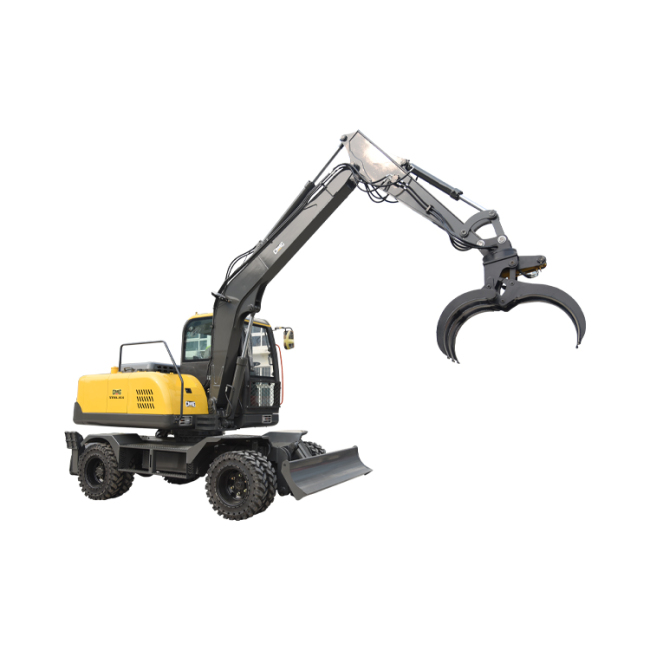 Low fuel consumption and safety medium bucket wheel excavator  for sale