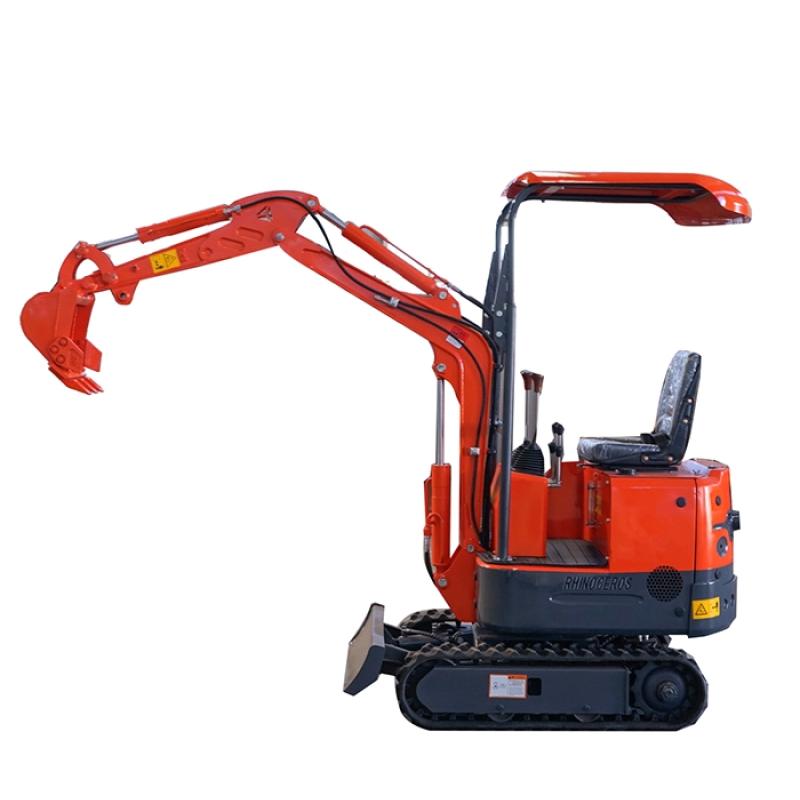 Cheap  price small mini excavator 0.8 ton digger  mini  crawler excavator