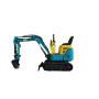 Hot sale excellent performance 800kg 1000kg digger mini crawler excavator machine price