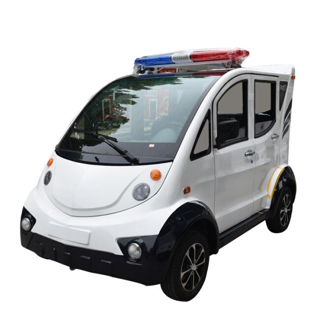 Hot sale Electric Police Patrol Car 4-5 seats  Police Golf Car cruiser for Sale