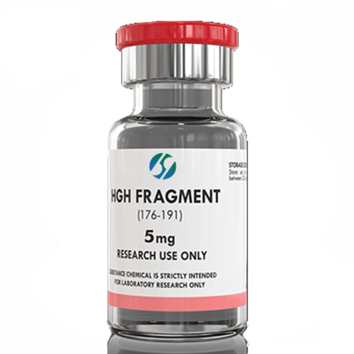 Free Shipping 99% lyophilized Peptide 5mg hgh frag fragment 176-191