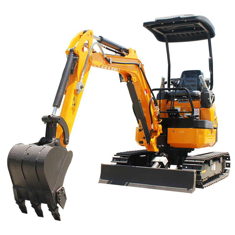 Hot sale High horsepower Safe and durable chinese new mini backhoe loader excavator