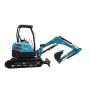 Farm use low fuel rubber tracks mini excavator micro mini digger 3 ton excavator