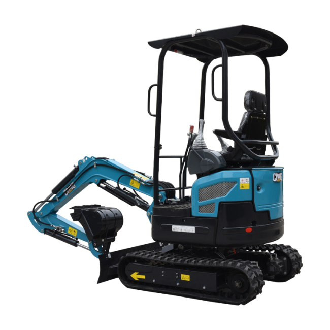 Good quality and durable small bagger chinese  mini excavator loader made in china