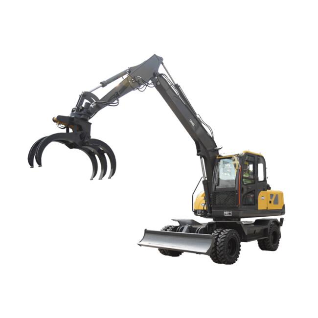 China powerful Earthmoving machinery wheeled loader digger machine excavator