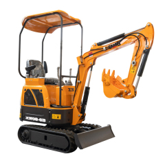 Easy to use firm and saftey 800kg mini crawler diesel backhoe excavator small digger