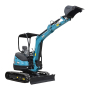 Best efficiency earth-moving machinery mini crawler excavator prices