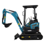 Free shipping agricultural digger china super mini excavator