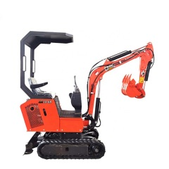 Chinese factory production have safe and sturdy cabin long boom mini excavator ce