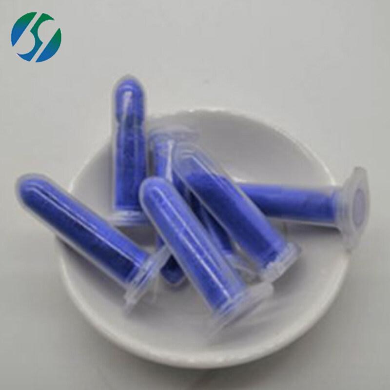 Anti-aging blue copper tri peptide ghk-cu ahk cu copper peptide