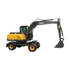 chinese cheaper hydraulic 8 ton wheel bucket excavator for sale