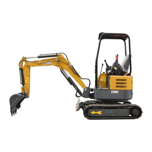 Cheapest rubber tracks  2.0 ton mini excavator for sale