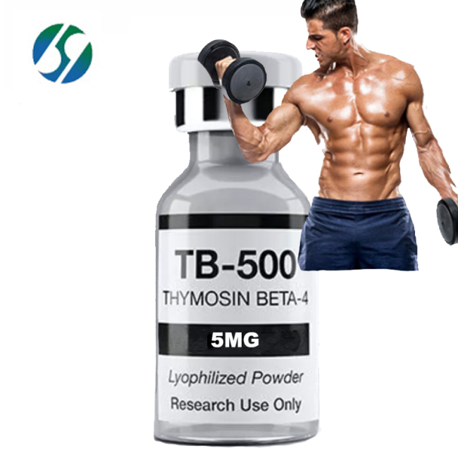 Free Shipping Peptide tb500 5MG thymosin beta 4 acetate with reasonable price and fast delivery