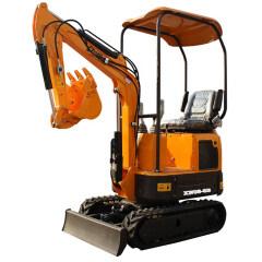Used for garden construction 0.8 ton mini excavator rubber tracks