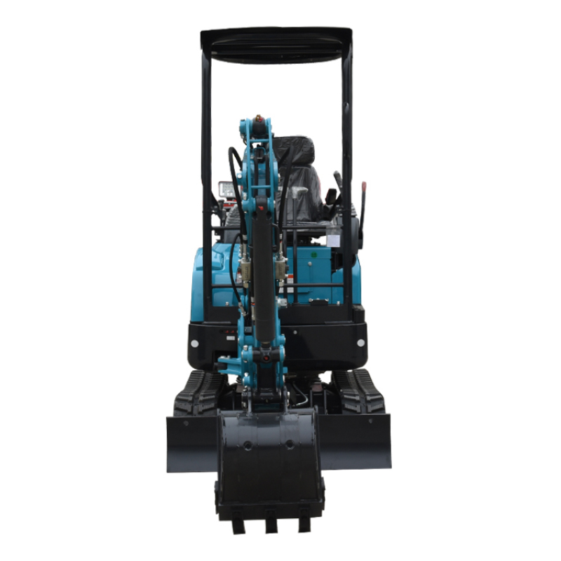High performance import hydraulic pump 1.5ton 1.7ton mini excavator with thumb for agriculture