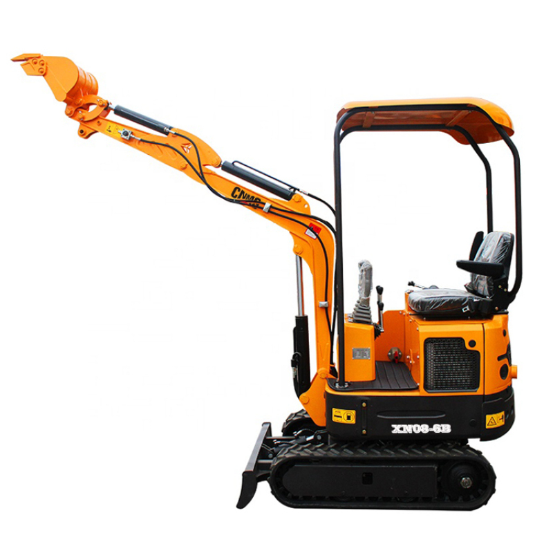 High horsepower Safe and durable new smallest 0.8 ton mini excavator cheap price