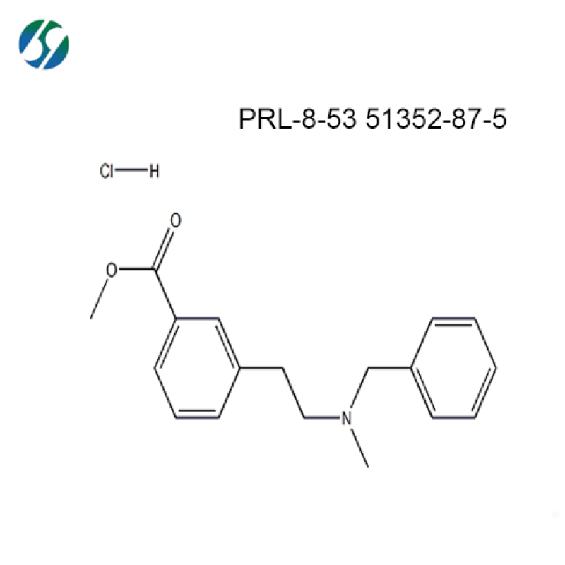 Bulk nootropics prl 8-53 / GMP Certified prl 8 53 / CAS 51352-87-5 with fast delivery