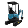 Factory sale various attachments long boom diesel 2.0 ton mini excavator for sale